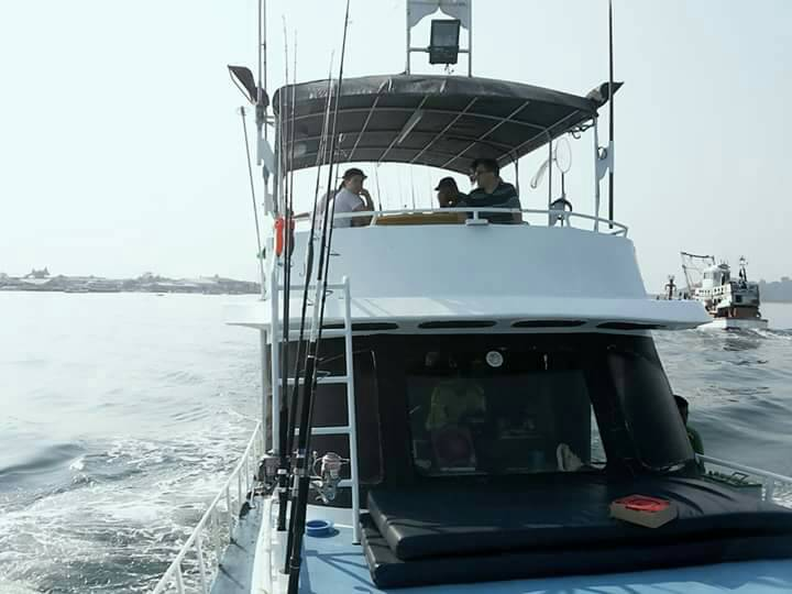 лодка для рыбалки на Пхукете