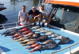 фото отчет о рыбалках На пхукете сезоН 2016-2017 рыболовНые круизы к симилаНским островам